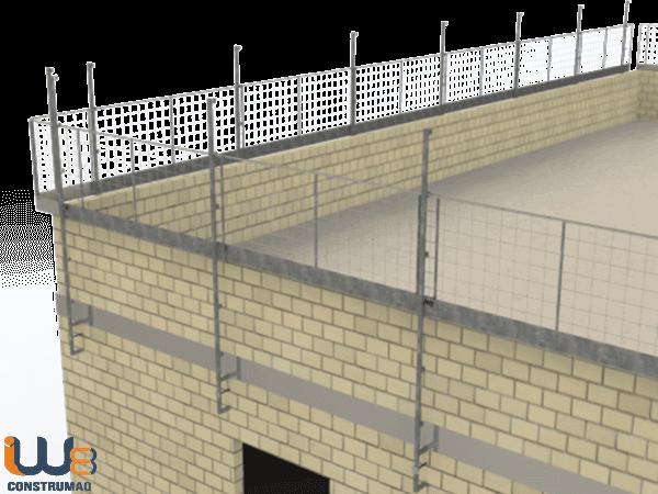 Proteção Periférica para Alvenaria Estrutural