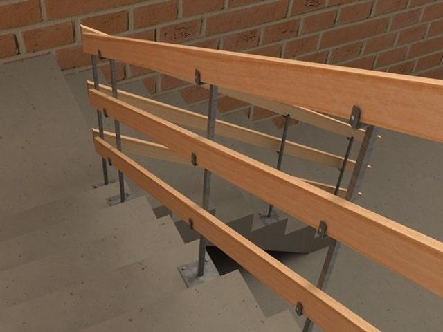 Proteção para Escada